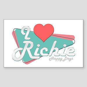I Heart Richie Rectangle Sticker
