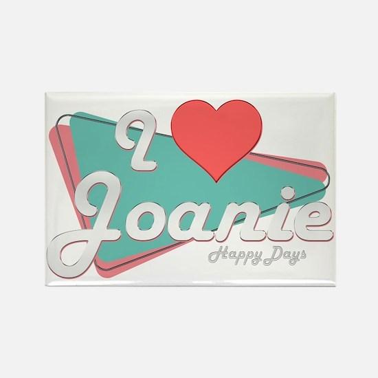 I Heart Joanie Rectangle Magnet