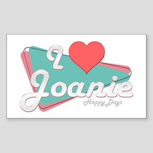 I Heart Joanie Rectangle Sticker