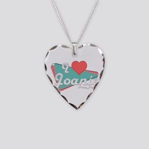 I Heart Joanie Necklace Heart Charm