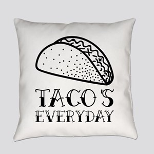 Tacos Everyday Everyday Pillow