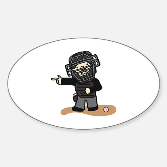 Umpire Boy Decal