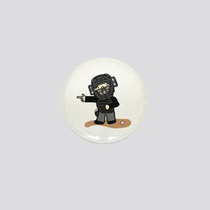 Umpire Boy Mini Button