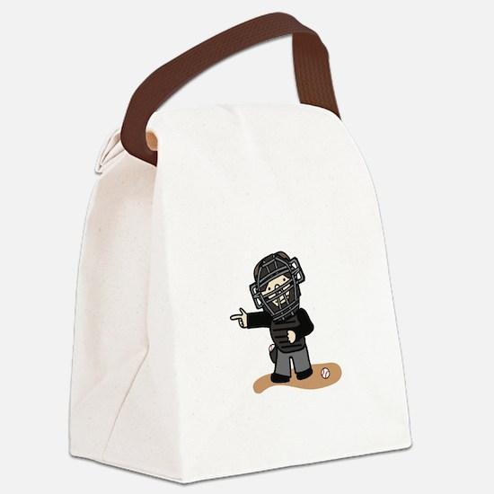 Umpire Boy Canvas Lunch Bag
