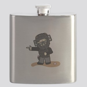 Umpire Boy Flask