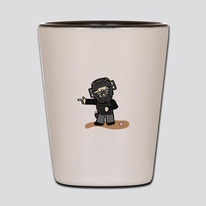 Umpire Boy Shot Glass