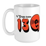 WKTQ (13Q) Pittsburgh '73 - Large Mug