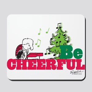 The Peanuts: Be Cheerful Mousepad