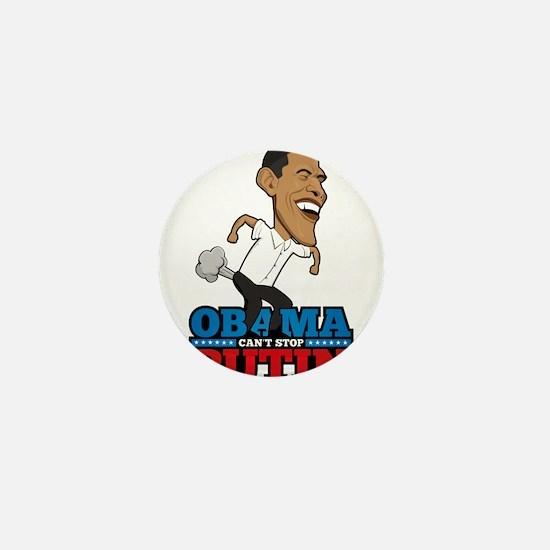 Obama Can't Stop Putin Pooti Mini Button (10 pack)