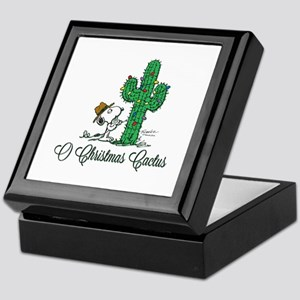 O Christmas Cactus Keepsake Box