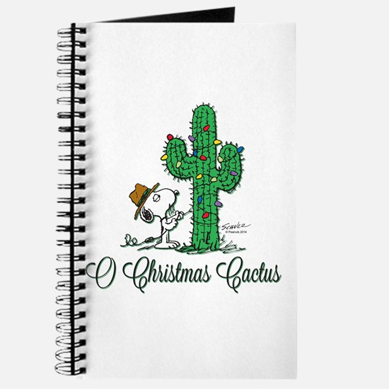 O Christmas Cactus Journal