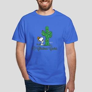 O Christmas Cactus Dark T-Shirt