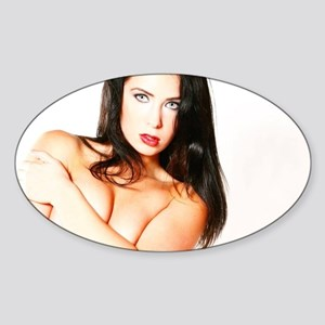 Sexy Naked Woman Sticker