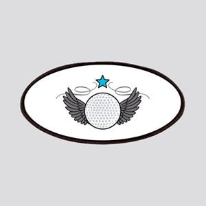 Winged Golf Ball Patches