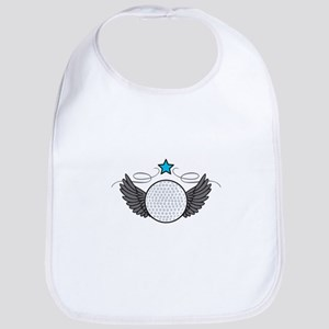 Winged Golf Ball Bib