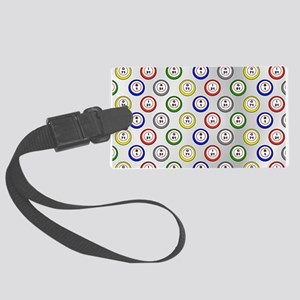 Bingo Balls Light Luggage Tag
