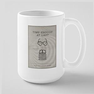 Time Enough at Last Large Mug