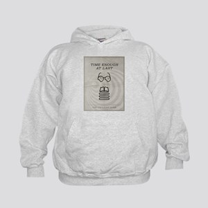 Time Enough at Last Kids Hoodie