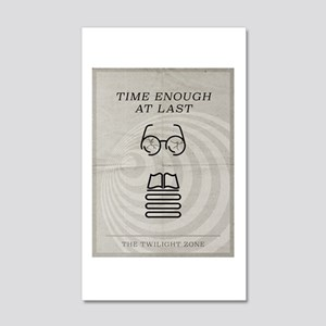 Time Enough at Last 20x12 Wall Decal