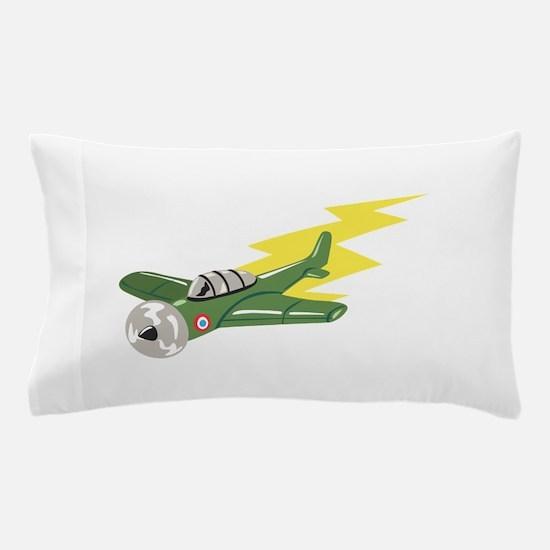 Small Plane Airplane Pillow Case