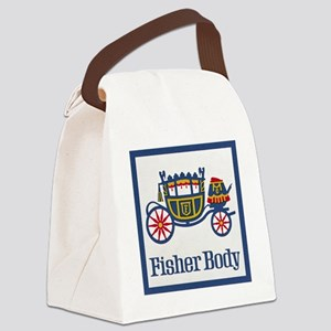 Fisher Body Canvas Lunch Bag