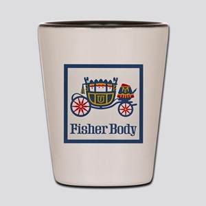 Fisher Body Shot Glass