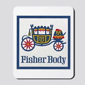 Fisher Body Mousepad