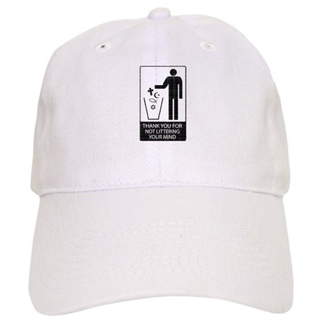 Anti-Religious (vintage look) Cap