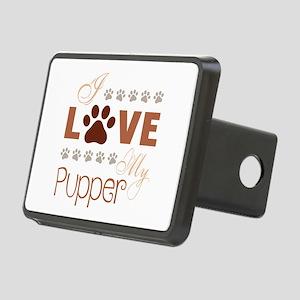 I Love My Doggo Rectangular Hitch Cover