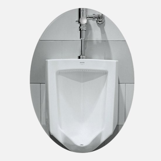 Urinal  Oval Ornament