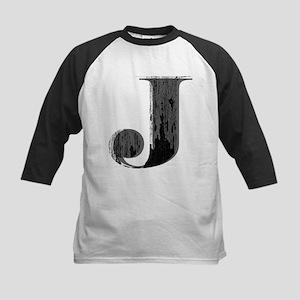 Grungy letter J Baseball Jersey