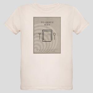 To Serve Man Organic Kids T-Shirt