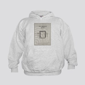 To Serve Man Kids Hoodie