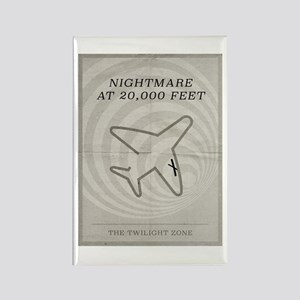 Nightmare at 20,000 Feet Rectangle Magnet