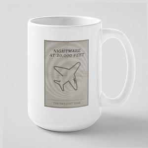 Nightmare at 20,000 Feet Large Mug