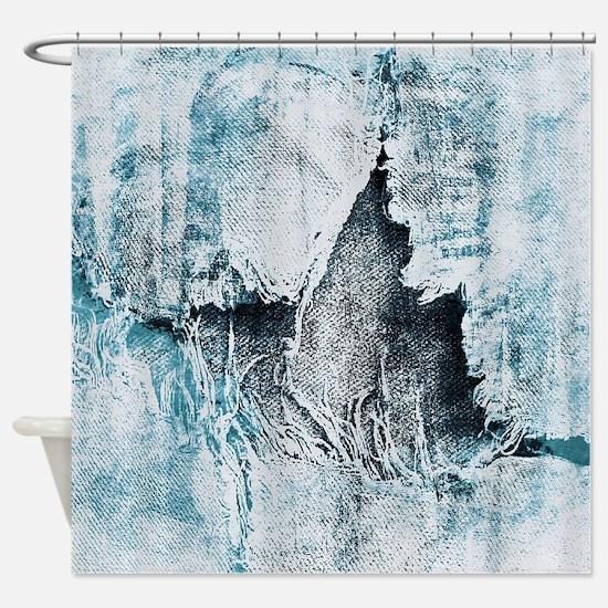 Unique Denim Shower Curtain