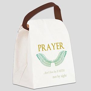 OYOOS Prayer Wing design Canvas Lunch Bag