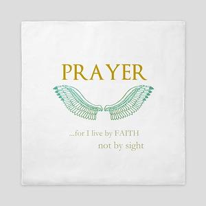 OYOOS Prayer Wing design Queen Duvet
