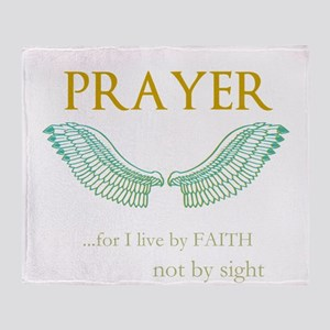 OYOOS Prayer Wing design Throw Blanket