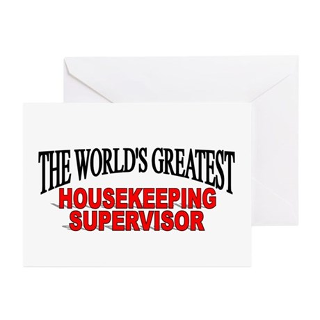 """""""The World's Greatest Housekeeping Supervisor"""" Gre"""