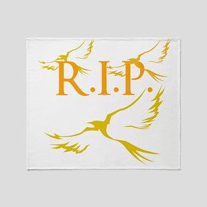 OYOOS R.I.P. design Throw Blanket