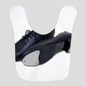 TapShoes012511 Polyester Baby Bib