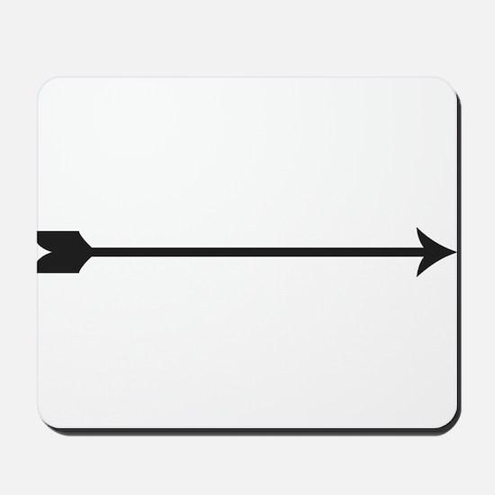 Black Arrow Mousepad