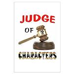 JUDGE Posters