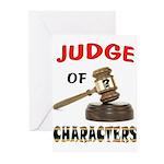 JUDGE Greeting Cards
