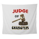JUDGE Wall Tapestry