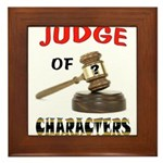 JUDGE Framed Tile