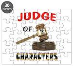 JUDGE Puzzle