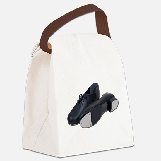TapShoes012511.png Canvas Lunch Bag