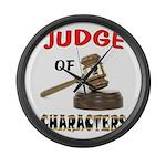 JUDGE Large Wall Clock
